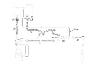 Комплект дыхательного контура (A1-SPU-EV)