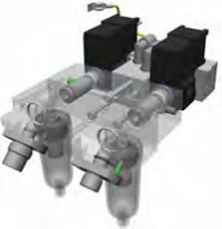 G5/S1 SMC Mixer block assembly HAMILTON-G5/S1