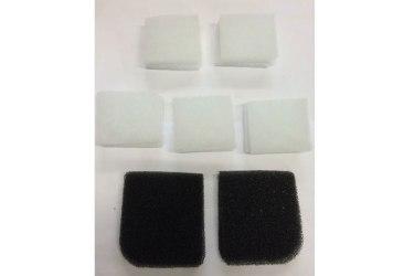Набор фильтров-пылеотделитель для фильтра HEPA и охлаждающего вентилятора