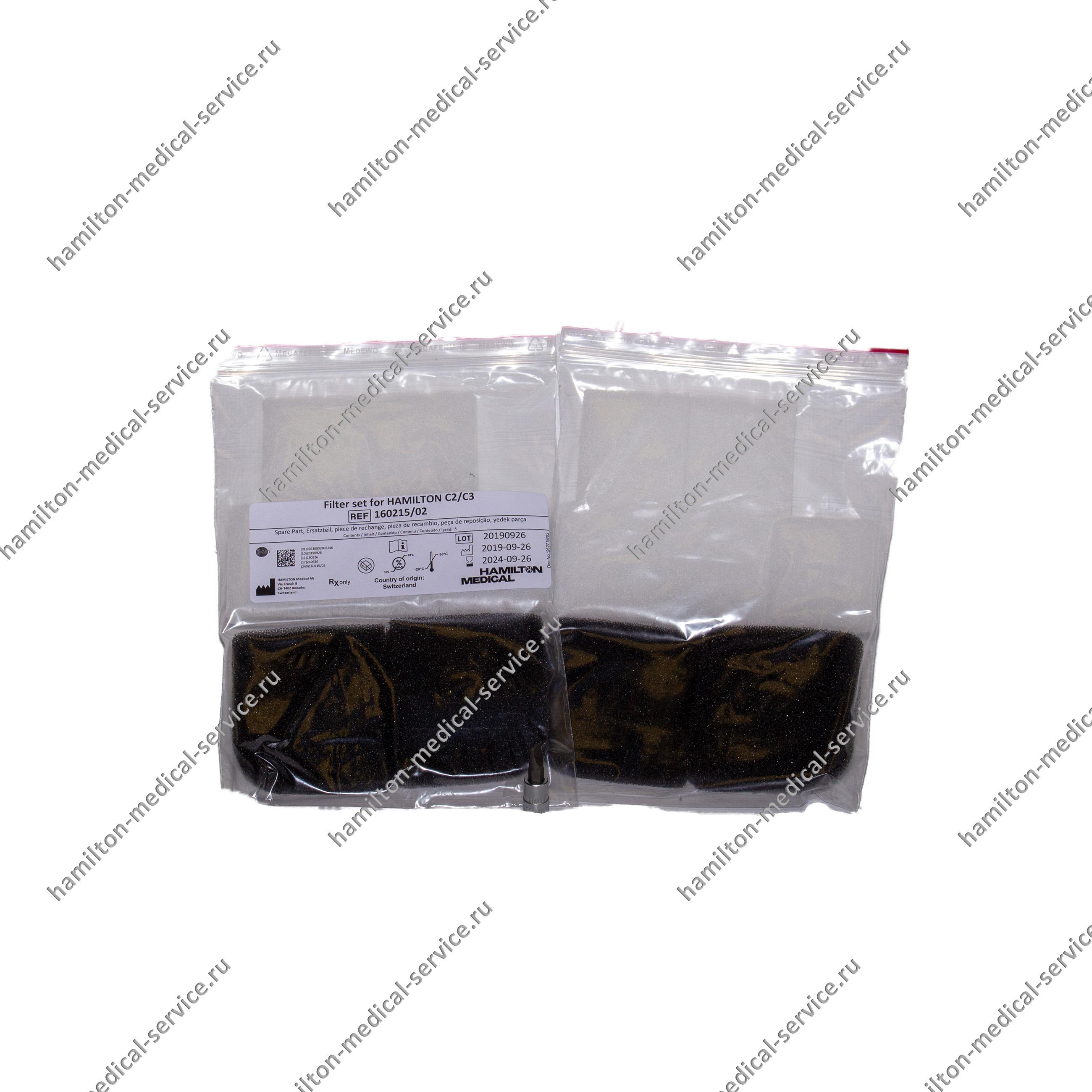 Набор пылевых фильтров для С2/C3 ( для HEPA фильтра и охлаждающего вентилятора)