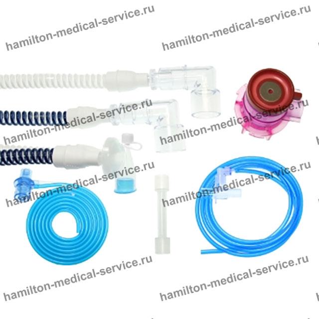 Одноразовый дыхательный контур ИВЛ, неонатальный 150 сантиметров
