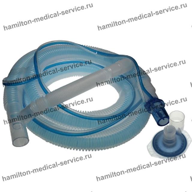 Одноразовый дыхательный контур для ИВЛ, коаксиальных для аппаратов G5/S1