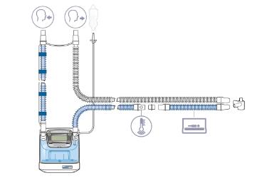 HAMILTON-BC8010: комплект одноразовых дыхательных контуров для младенцев и детей с У-образным коннектором
