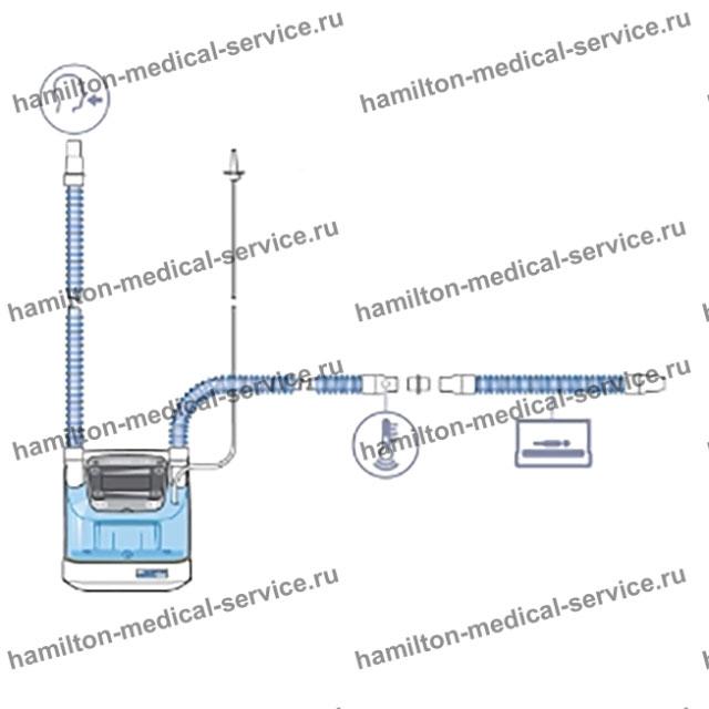 Одноразовый дыхательный контур ИВЛ детский, неонатальный (BC4010)