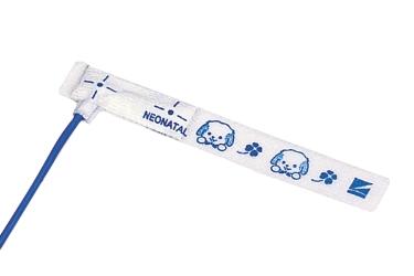 Датчик SpO2 для новорожденных, крепящийся на внутренней части стопы (Nihon Kohden)