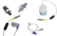 Датчики капнометрии СО2 и адаптеры к датчикам для ИВЛ