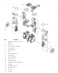 Ремнабор компрессора