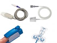 Датчики пульсоксиметрии SPО2, адаптеры и кабеля к датчикам для ИВЛ